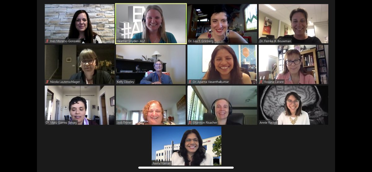 What an incredible ISTAART AWARE PIA 2020 Panel Presentation! Feeling so inspired by these amazing women. A recording of the panel presentation will also be played during AAIC! @ISTAART @HeatherAlz #womeninscience #womenintech #aaic2020 #aware #istaart #alzheimer https://t.co/HqBsKqQ9Yv