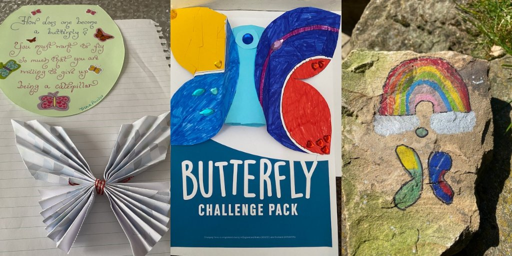 If you want to learn more about how to talk to your children about looking and feeling different, download our Butterfly Challenge pack with fun activities and conversation starters here 👉 https://t.co/viuGqbHoys https://t.co/vpHqtUtnmo