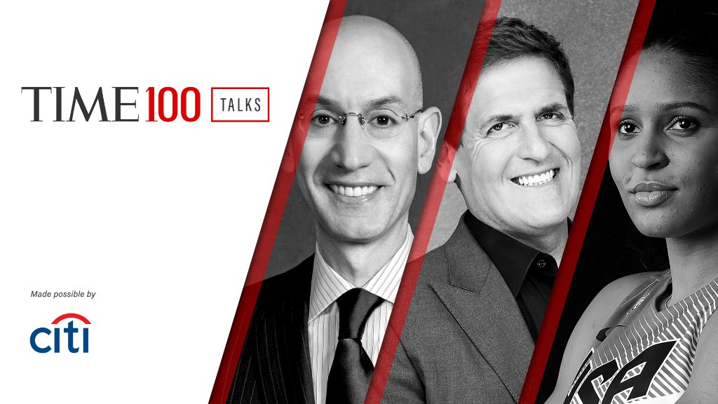 Starting in one hour, join us for a live #TIME100Talks on the future of sports. Made possible by @Citi https://t.co/NB2BCLtV00 https://t.co/cvHaOCQaYt