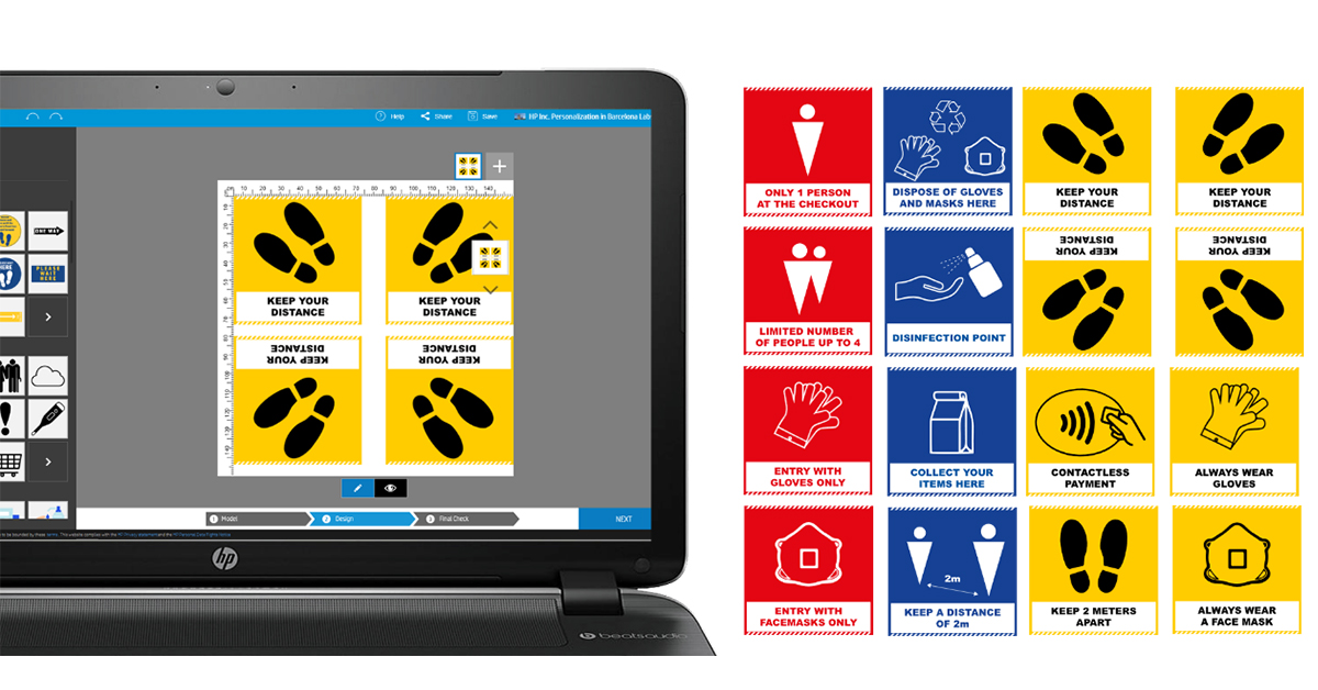 3M™ and HP now offer free large format graphics to help promote health & safety messages as part of the COVID-19 pandemic. https://t.co/dqM2Ocho8s https://t.co/kF1dUlPjJj