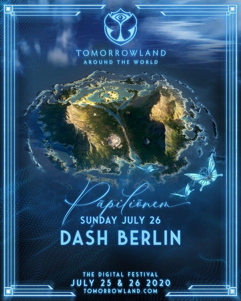 See you on #Pāpiliōnem @tomorrowland! 🏝 #AroundTheWorld 🎟 tomorrowland.com