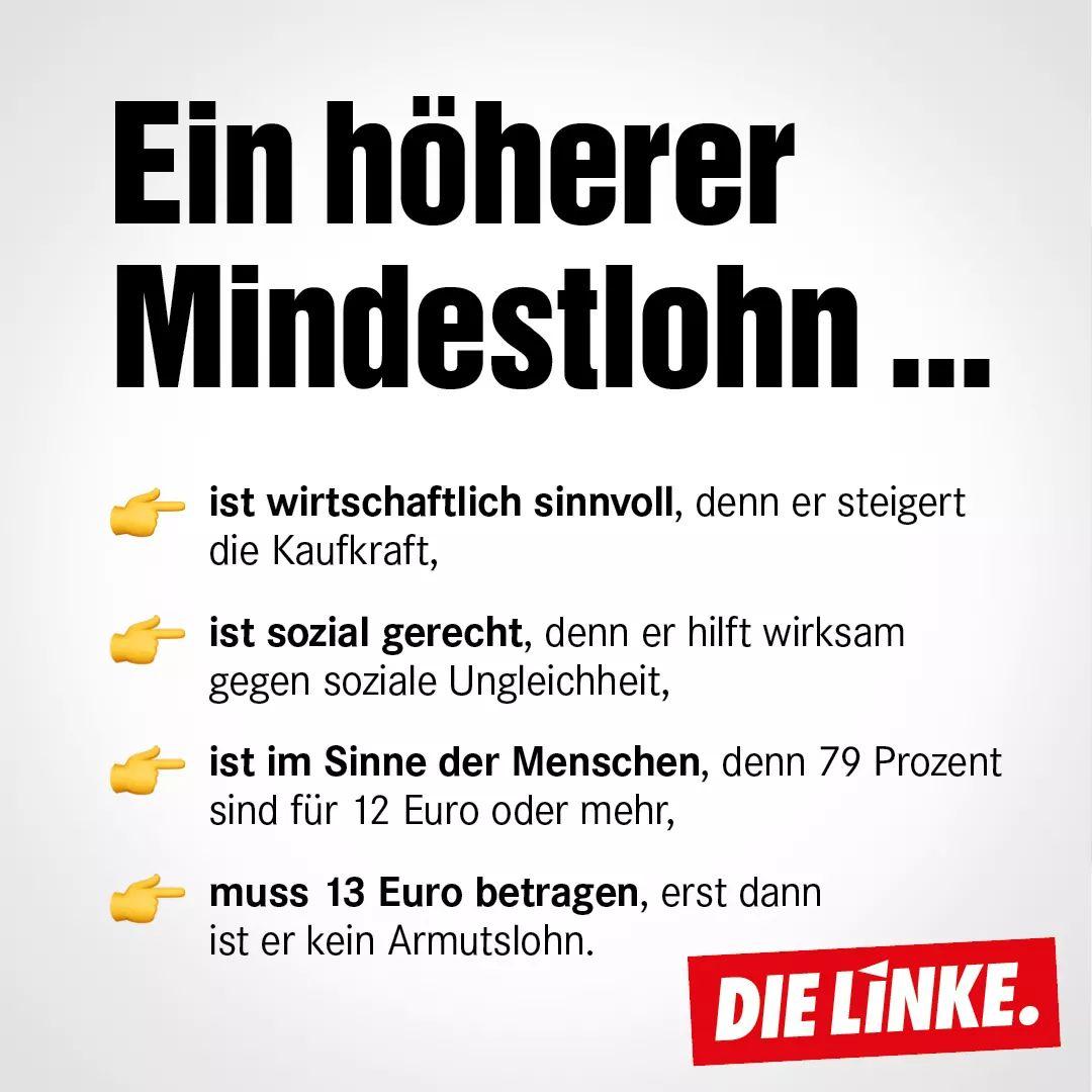 #Mindestlohn
