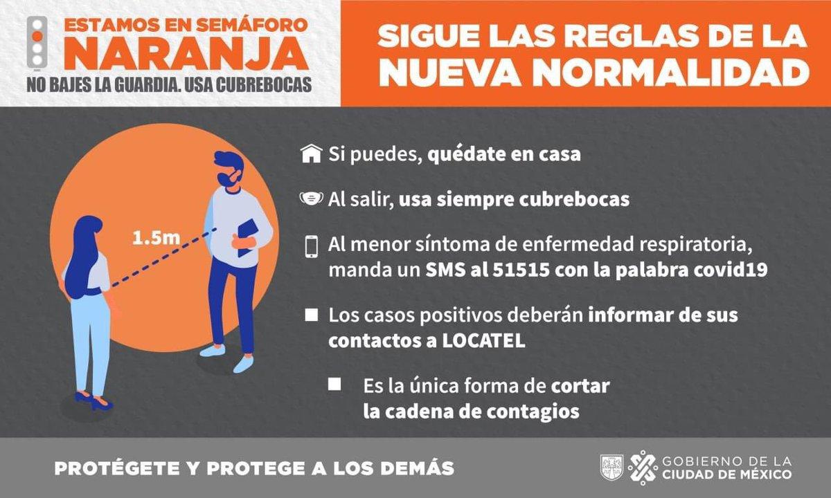 #estamosensemáforoNaranja #nobajeslaguardia https://t.co/0DbqoIiYyc