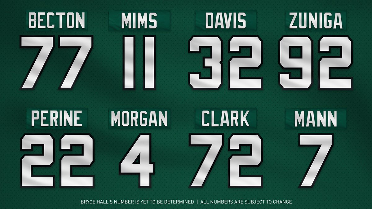 We've got numbers. Here's what the draft class is rocking.