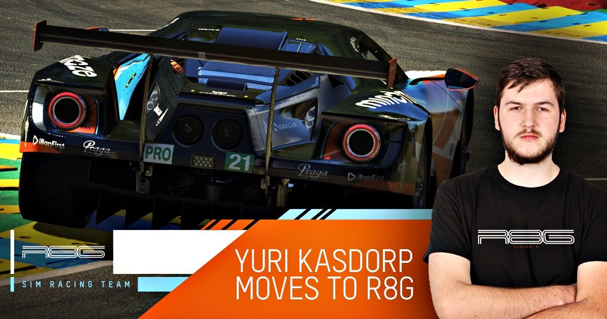 Another amazing driver joigning @r8gesports 🔥🔥🔥 Welcome Yuri