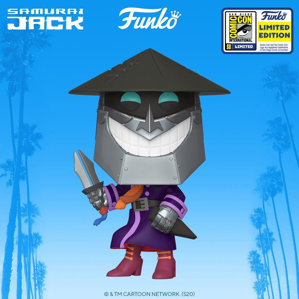Funko SDCC 2020 Reveals: Pop! Animation: Samurai Jack #FunkoVirtualCon #Funko #Pop #FunkoPop
