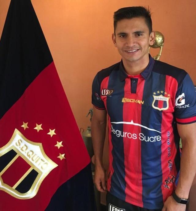 """""""Sueño con volver al club que me vio nacer"""" (ENTREVISTA) Luis Saritama confiesa que su futuro está entre #SDQuito y un equipo de la #SerieA https://t.co/OwmPj2QfTz https://t.co/CpxMhF5tfE"""