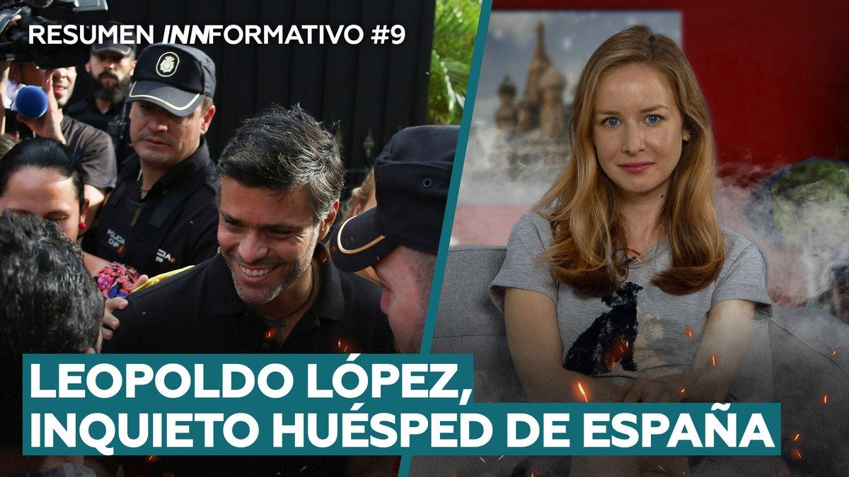 A Leopoldo López las autoridades españolas le pidieron que no llevara a cabo actividades políticas en la embajada de España en Venezuela (pero olvidaron aclararle que contratar mercenarios también se considera 'actividad política') .@inafinogenova