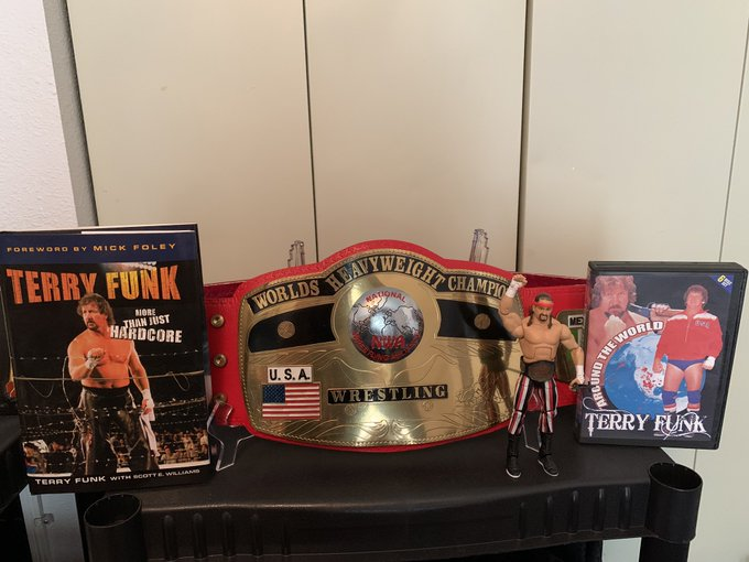 Happy Birthday to the Legend of Legends himself, Terry Funk