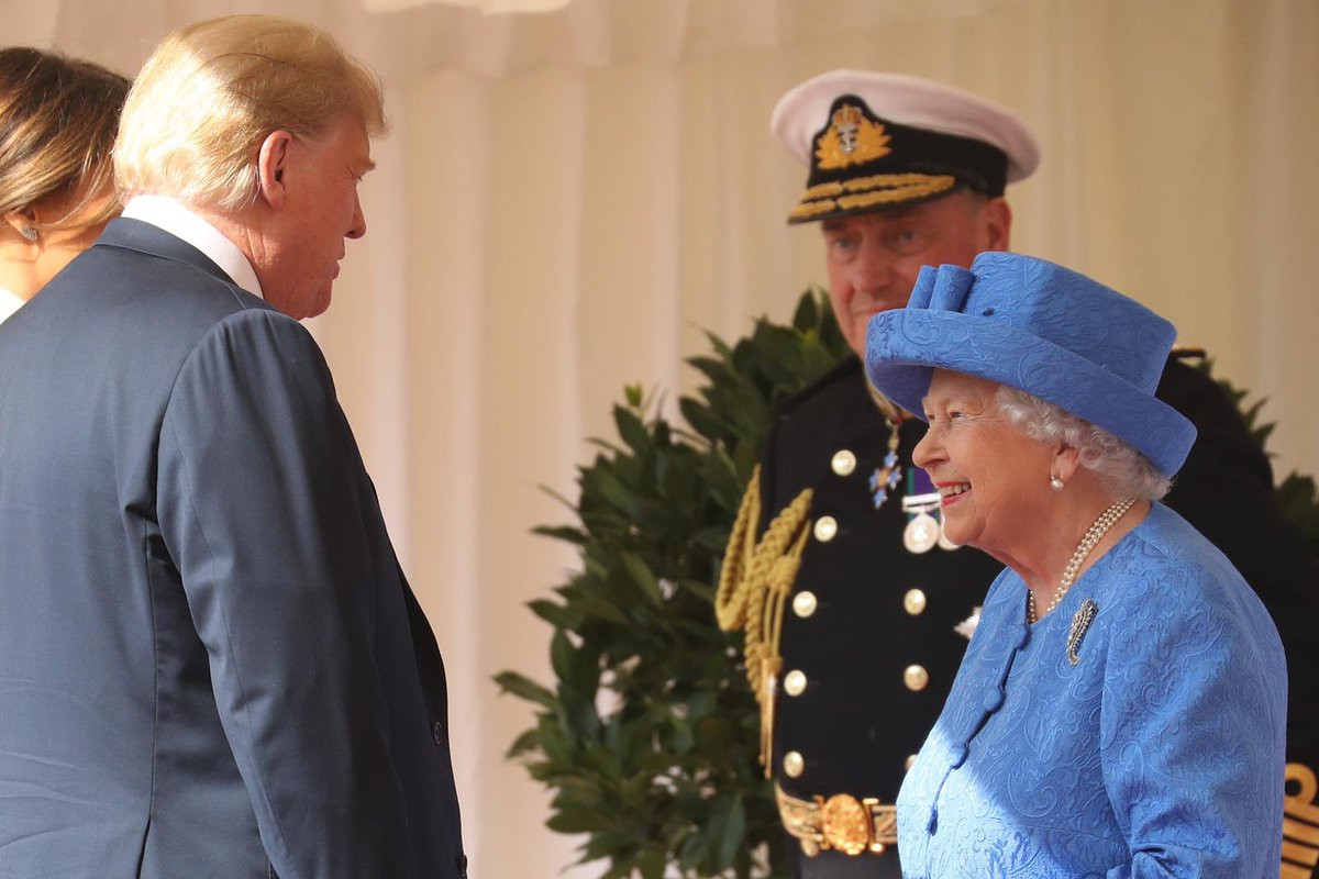 Today, The Queen spoke to President Trump by telephone from Windsor Castle ahead of Independence Day in the United States on the 4th July.