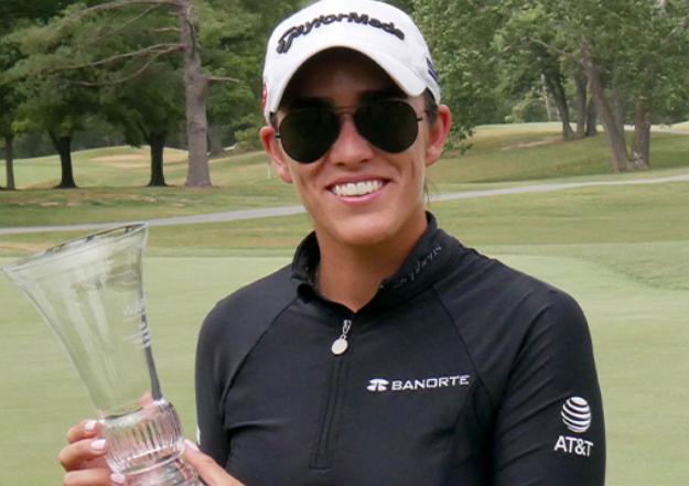Todas mis porras y ánimo a nuestras golfistas mexicanas que ya están en torneos. Y muchas felicidades @MariaFassi0  por tu  primera victoria como profesional en el NWA Classic.   El primero de muchos más. 🙌 https://t.co/aNnC8u8wK5