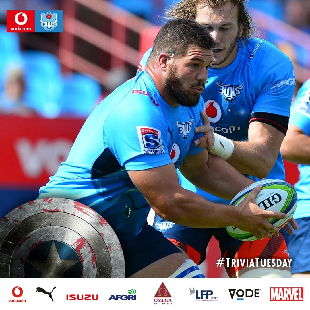 #BullsFamily The answer for todays Marcel van der Merwe inspired #TriviaTuesday is RC Toulonnais. 💪🏼