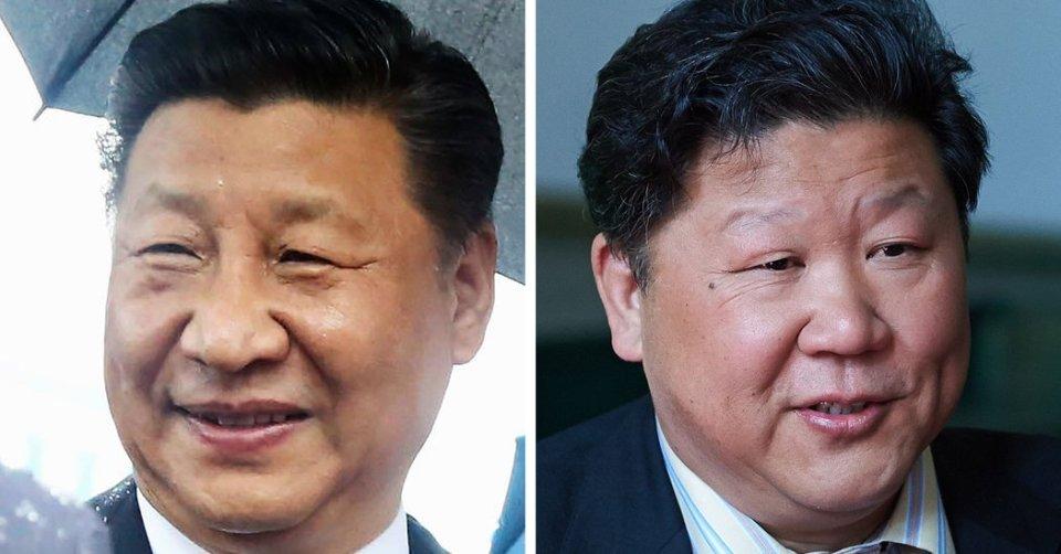 As vidas de Xi e Liu estão conectadas graças a um acontecimento aleatório da natureza - a genética.  Ambos são fisicamente parecidos.  Sempre que Liu surge em público, vestido com o terno peculiar dos barítonos e os chefes de Estado, logo recorda a figura de Xi. https://t.co/syIGFHTk0w
