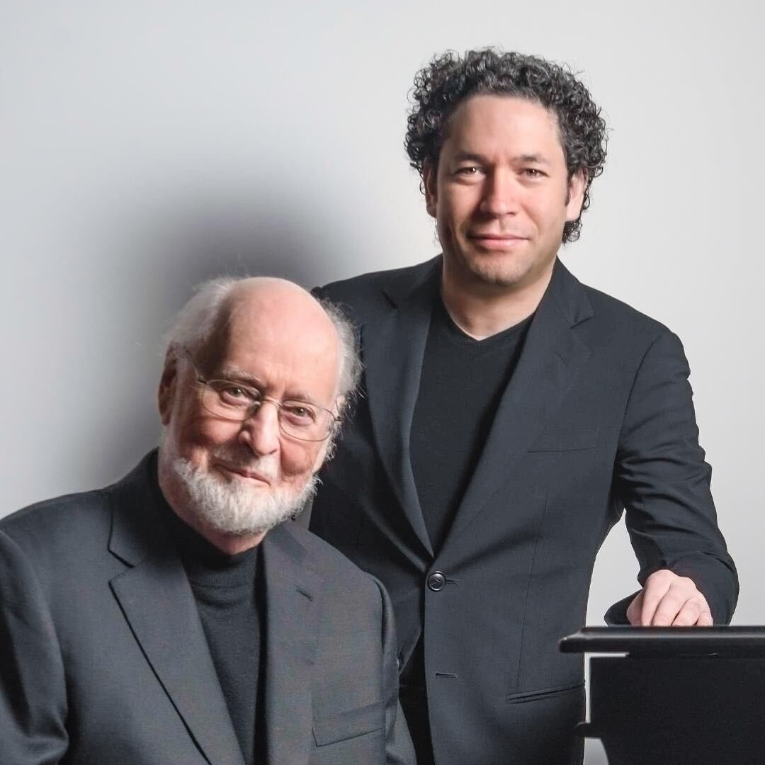 "Don't forget! @GustavoDudamel and John Williams share their favorite music and memories with @lauritzen_brian  –TONIGHT on ""At Home With."" 6pm on @ClassicalKUSC and https://t.co/Dqn4QIjxgY. 🎶📻👏 https://t.co/eIAoXbKaFI"