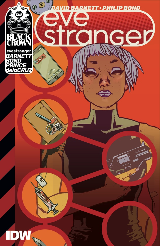 You have unlimited funds, a jet-set lifestyle, and extraordinary abilities. So what happens when you develop a sneaking suspicion you're working for the bad guys? Meet Eve Stranger, amnesiac for hire. Pick up EVE STRANGER when it hits stores this week! @davidmbarnett @pjbond https://t.co/ZCaqZOmMwg