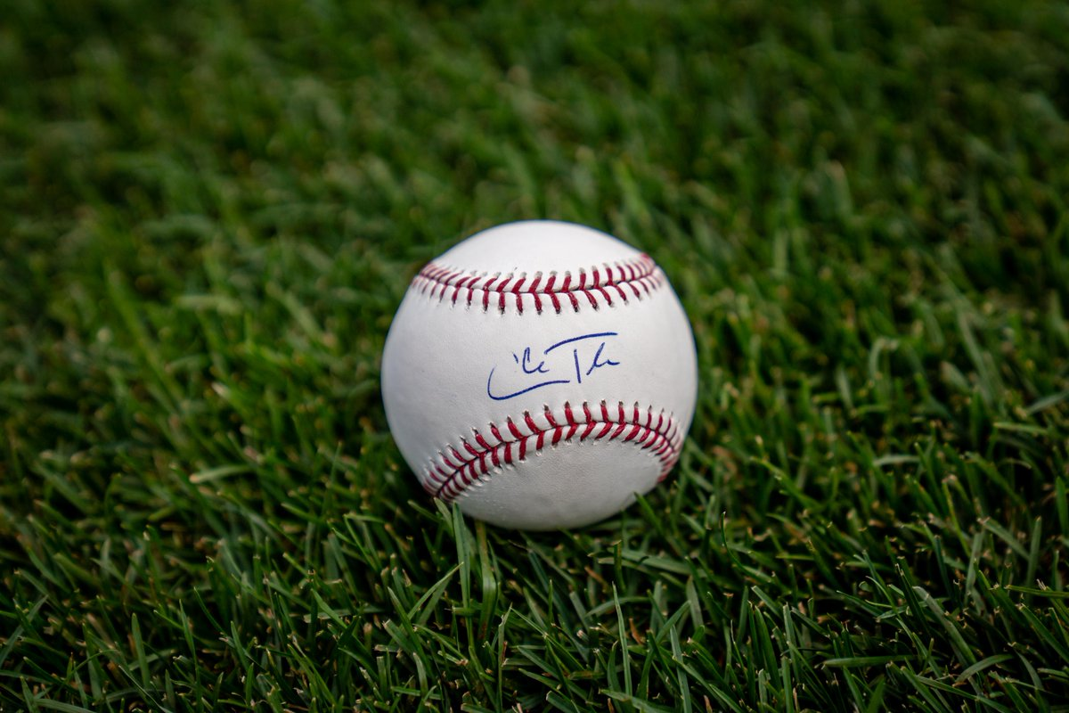 RETWEET THIS now for a chance to win a signed Cole Tucker baseball!  #SocialMediaDay https://t.co/EF6SElHRzX