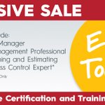 Image for the Tweet beginning: Sale on online training and