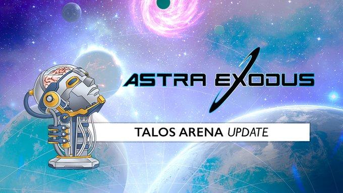 Talos Arena Update