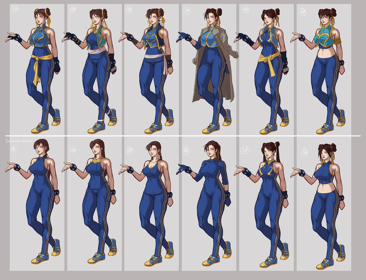 chun li street fighter 5 alternate costume
