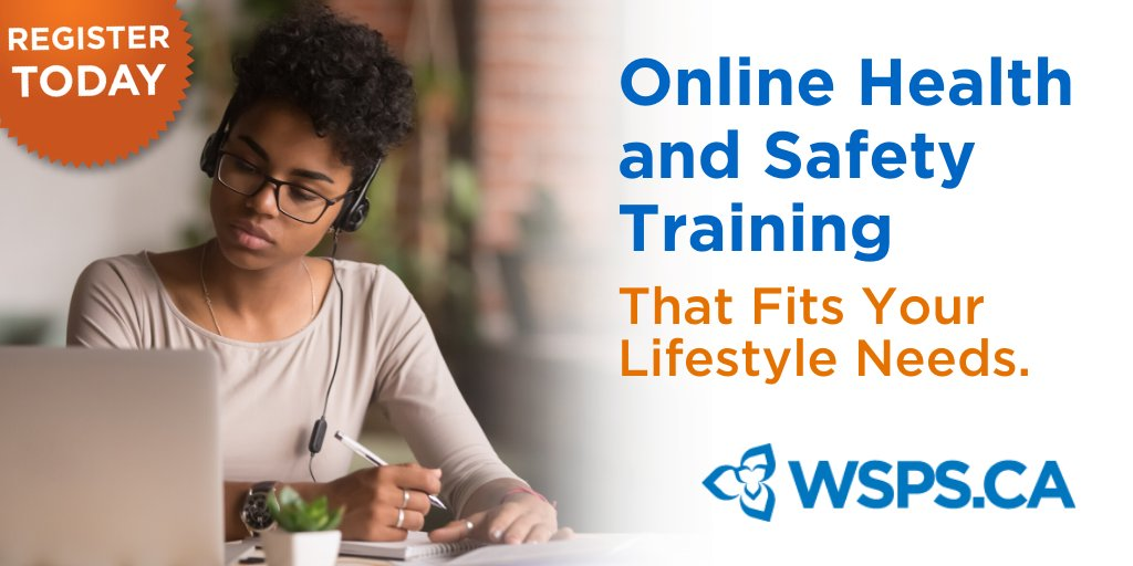Learning doesn't have to take a backseat during the time of #SocialDistancing. Discover how our e-courses can help you stay up-to-date on health and safety, from the comfort of your own home.   - http://wsps.ca/ecourses   #HealthandSafetyTraining #WorkFromHome #COVID19pic.twitter.com/zuyw90TXgS