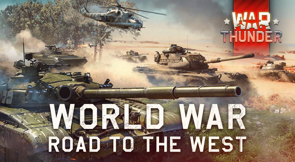 """📣 Kampfgruppenspieler!  Morgen beginnt die neue World War Season """"Road to the West"""" von #WarThunder mit 2 spannenden Kampagnen und erhaltet dafür Belohnungen wie 2 exklusive Premiumfahrzeuge und vieles mehr! Mehr bei uns unter https://t.co/eKBVqI5xfJ https://t.co/EWFwWGEk2J"""