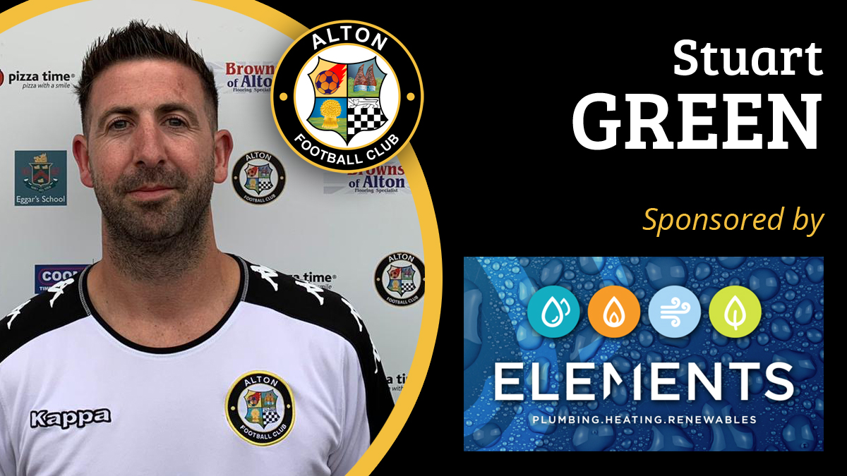 We are pleased to announce the signing of Stuart Green for the 2020/21 season, proudly sponsored by @ElementsPlumb. @SydWessex @HampshireFA @FarnhamSport @weyvalleyradio @AltonHampshire <br>http://pic.twitter.com/zoM4fEfD1p