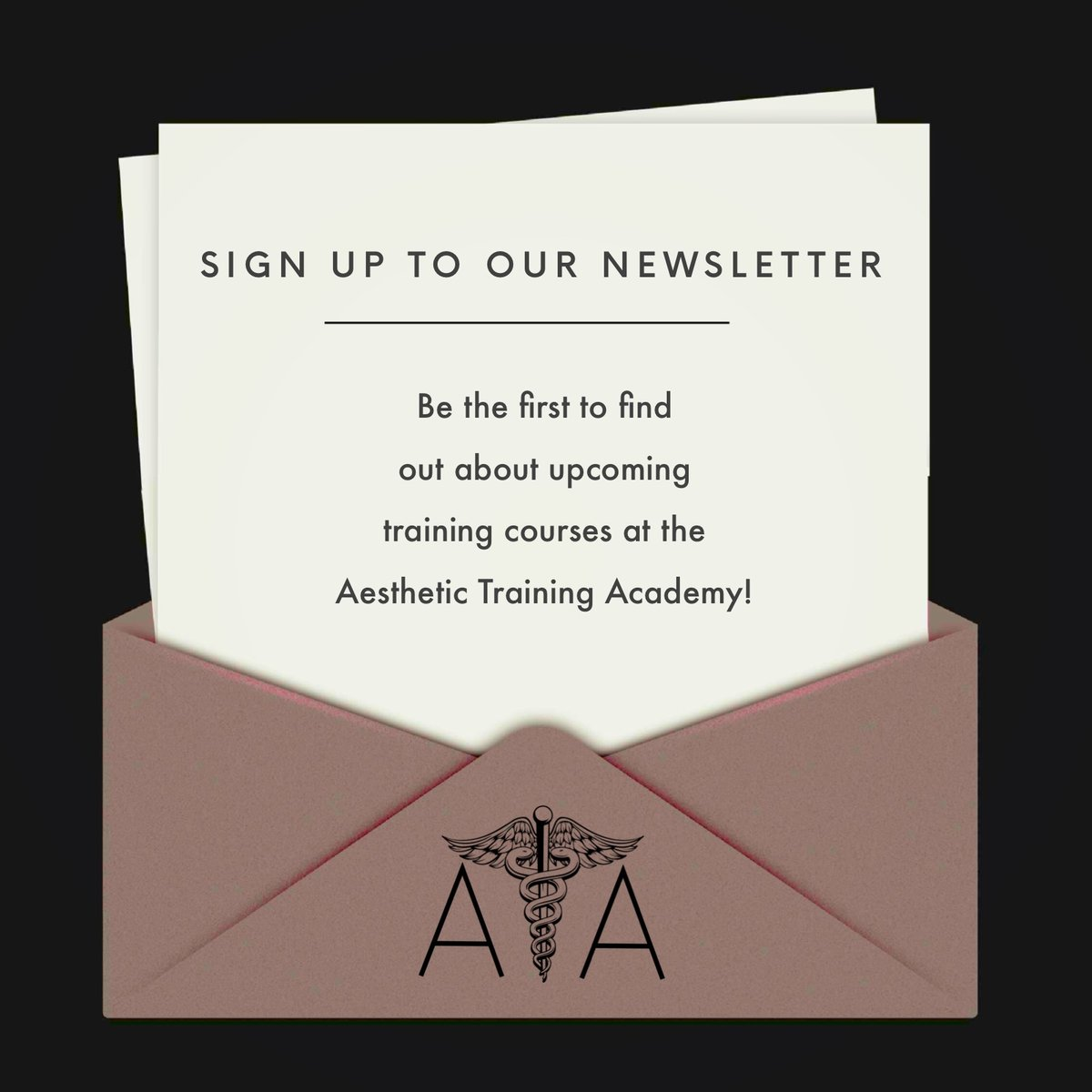 test Twitter Media - Sign up for our newsletter to be the first to find out about upcoming training courses at the Aesthetic Training Academy.  https://t.co/h2Ksekzy7f https://t.co/AHN80OmUop