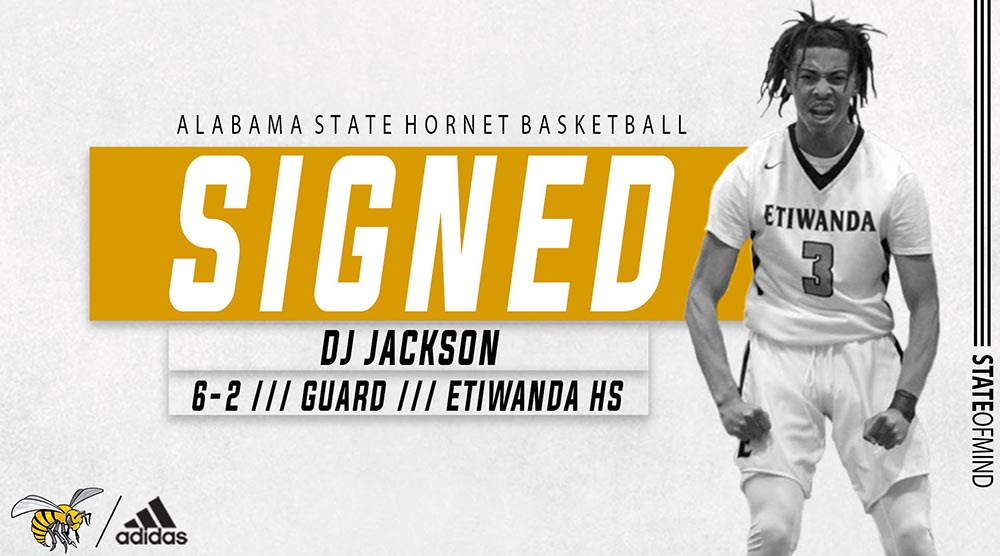 .@mowilliams adds Etiwanda High School guard DJ Jackson (@DJack1k) for the 2020-21 season  Welcome to Hornet Nation ‼️  #STATEofMind https://t.co/ZKvEn4pDDP