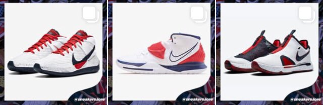 Which one is your favorite?🇺🇸 https://t.co/bZ6fr8FVvJ . #usa #KyrieIrving #pg4 #kd13 #nike #basketball #shoes https://t.co/hDLKU3xhxt