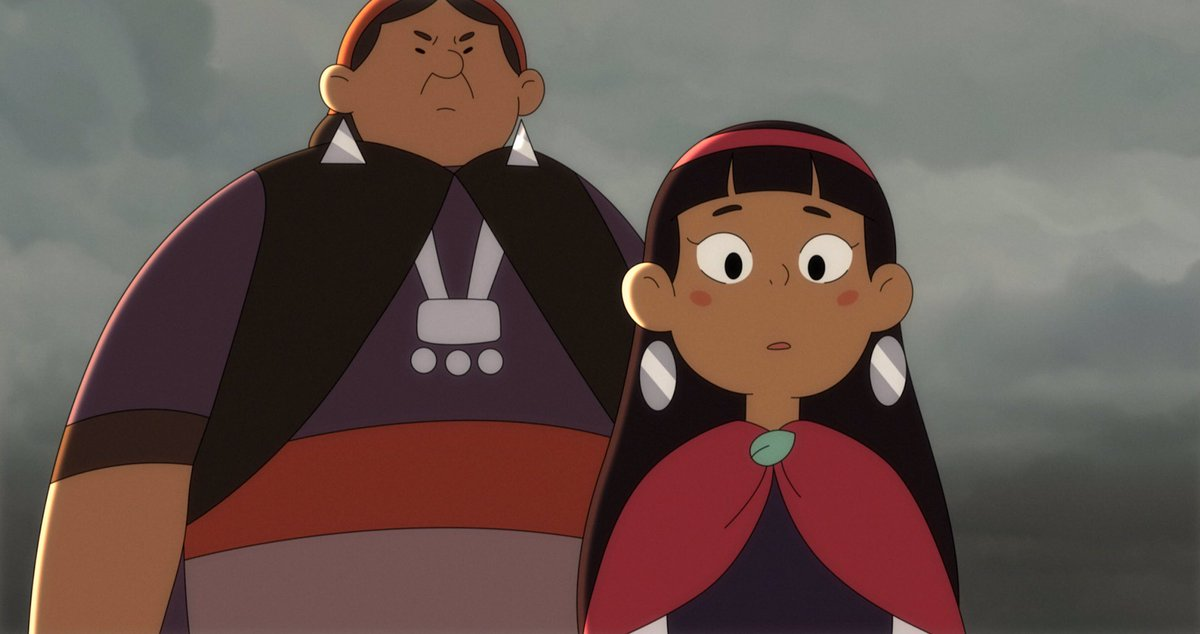 Latin American animation alert! Chilean feature NAHUEL AND THE MAGIC BOOK feels like a Studio Ghibli film based on Mapuche mythology. I spoke to director Germán Acuña about bringing multiple indigenous legends from the Chiloé Archipelago to the screen🇨🇱: https://t.co/dS675Ts7UZ https://t.co/UIfjbVBcEq