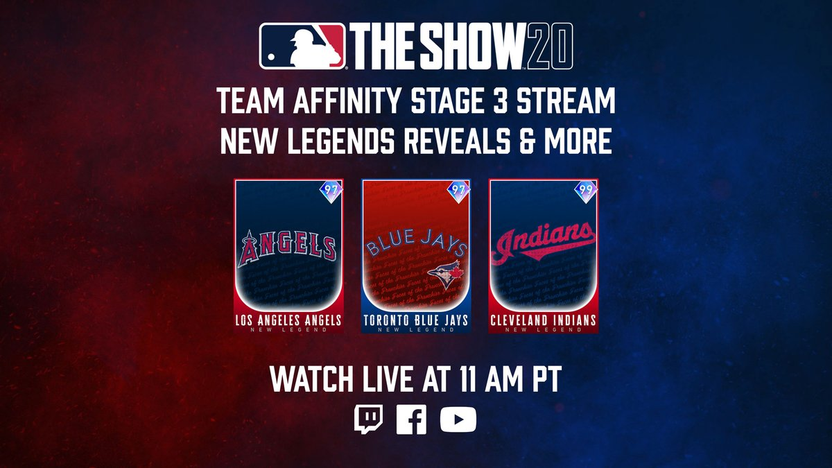 About to go live! Tune in we finish up the #TeamAffinityStage3 reveal with three new Legends as well as some extra info that you don't want to miss! 3 x Drops on Twitch! https://t.co/zENTLxPpNH https://t.co/EIg7VCrL5D