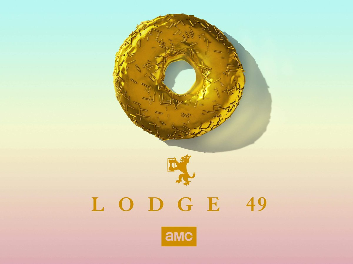 """@alfaforeman, @mashable: """"With an ever-spiraling narrative that raises questions many shows have never thought to ask, Lodge 49 can keep you on the edge of your seat while warming you from the inside out."""" #Lodge49 #FYC #Emmys"""