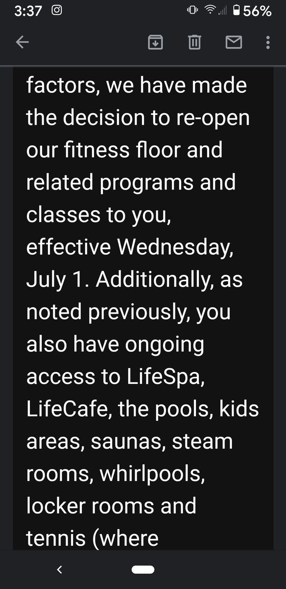 @lifetimefitness Lifetime is just flaunting the law and opening anyway. Do you people not realize that dead people don't pay dues? <br>http://pic.twitter.com/yzu2G7ZOaq