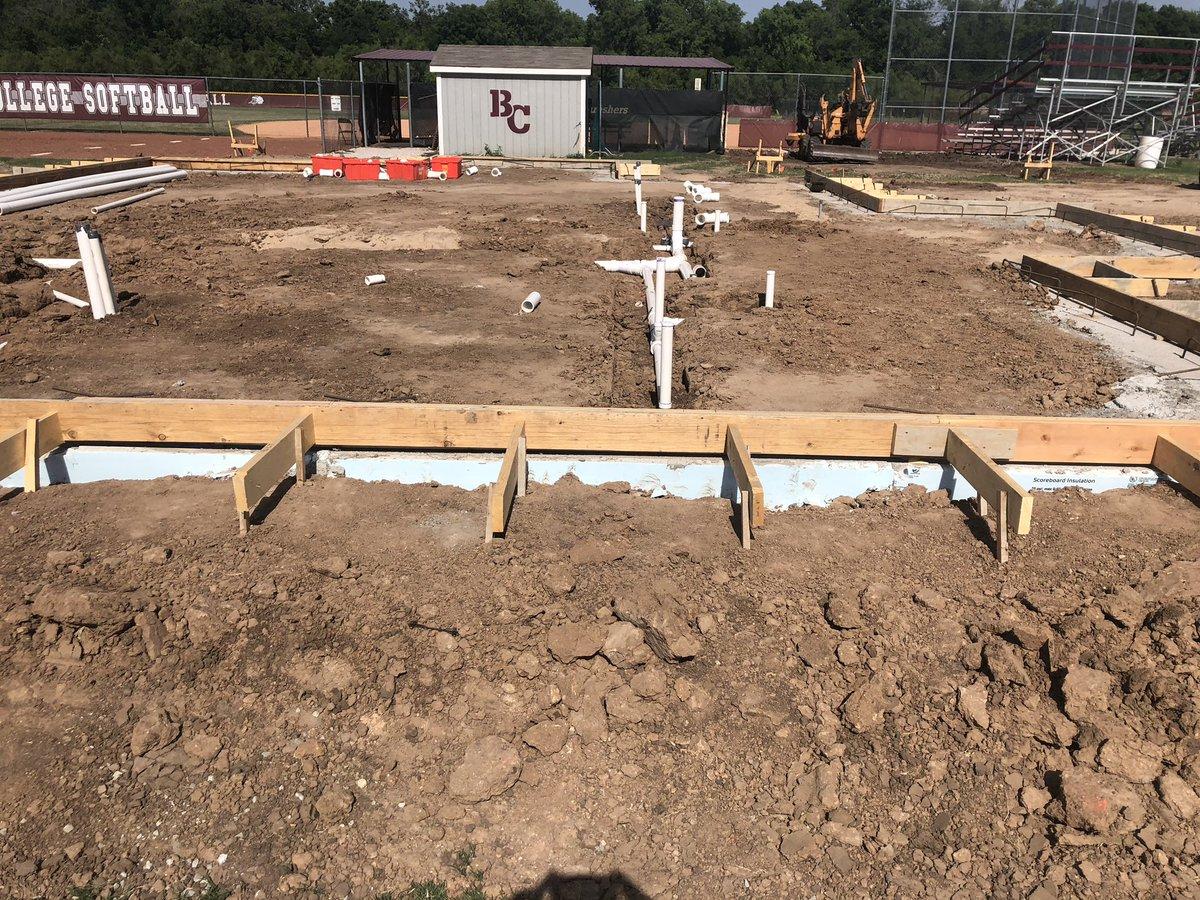 Plumbing going in! The progress is amazing! #WeAreFamily
