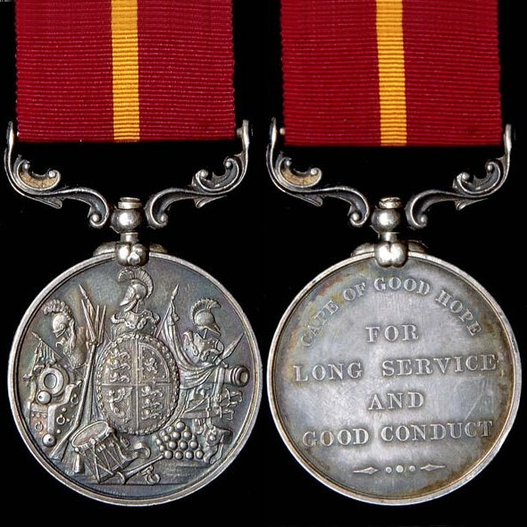 STOLEN #MEDAL Long Service & Good Conduct Medal J. DOMMETT - 65th Foot. @metpoliceuk Crime ref: 90/AB07069/78 Any information to the whereabouts of the medals is welcome