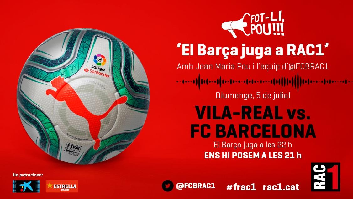 #frac1   👋 Fins aquí la transmissió del Barça - Atlètic de Madrid, l'equip del @fcbrac1 hi tornem diumenge!  Gràcies per acompanyar-nos un dia més! https://t.co/sl7rS0ipZD