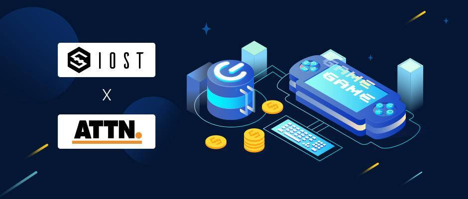 【Flash News】 IOST @IOST_Official announces strategic investment in ATTN @attncommunity, the two will collaborate deeply in the blockchain gaming field. https://t.co/b54rkX0M7H