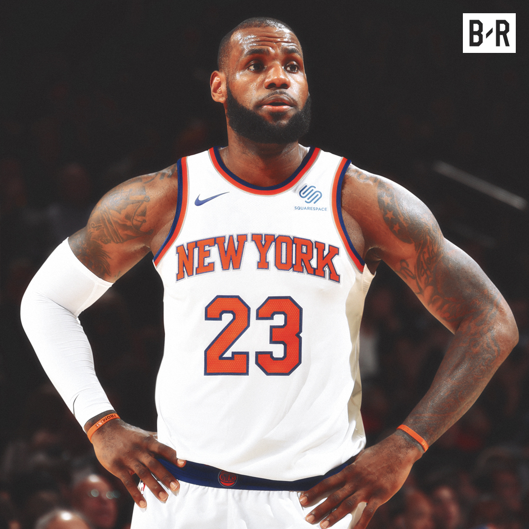 """LeBron James reportedly had the New York Knicks as his first choice during 2010 free agency before a """"disaster"""" first meeting, per @ringer  What if The King took his talents to MSG? https://t.co/uN8TWJp8rh"""