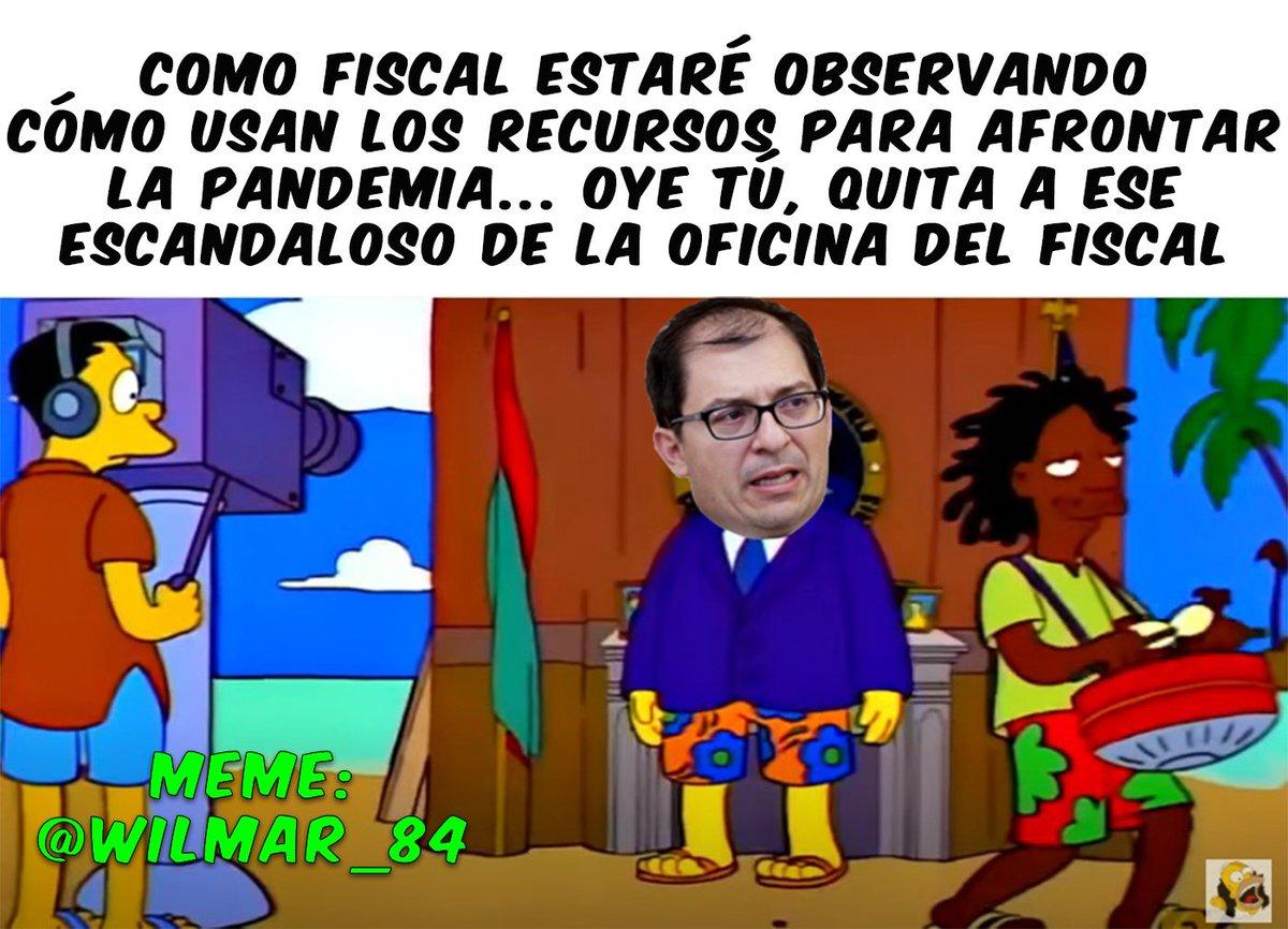 """Colombia Simpson على تويتر: """"Mientras tanto el Fiscal Barbosa en ..."""