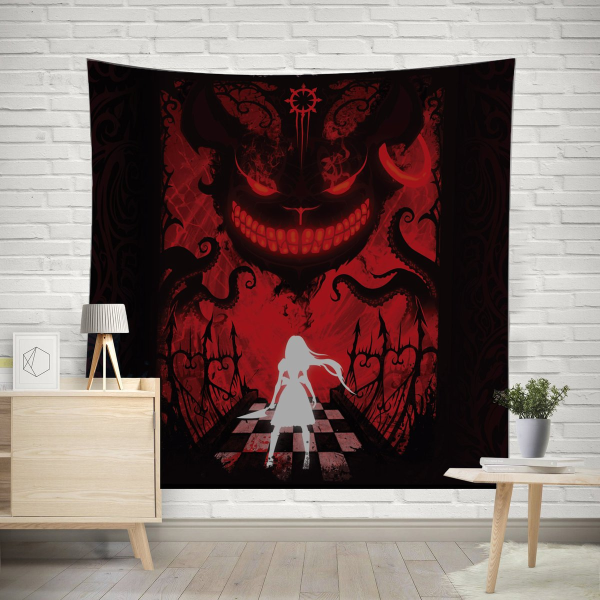 Canvas wall art for romantic bedroom
