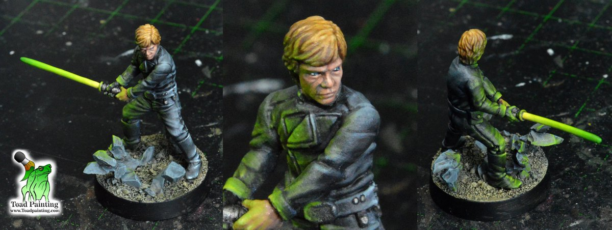 Finished Luke Skywalker commission from #starwarslegion by @FFGames   #minipainting #miniaturepainting #miniatures #StarWars https://t.co/AMjxcBj854