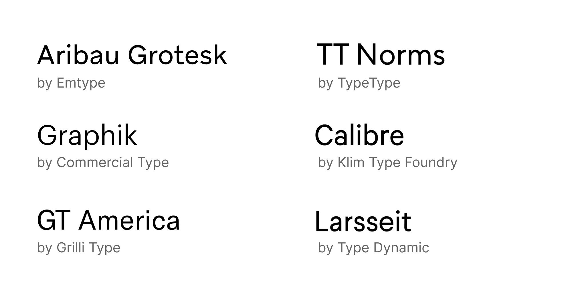 Steve Schoger On Twitter I Love A Lot Of The Popular Fonts Available On Google Fonts But They Also Tend To Get Overused If You Have A Budget Using A High Quality Commercial Font Will Make A Significant Difference On Your Projects Here Are A Bunch Of