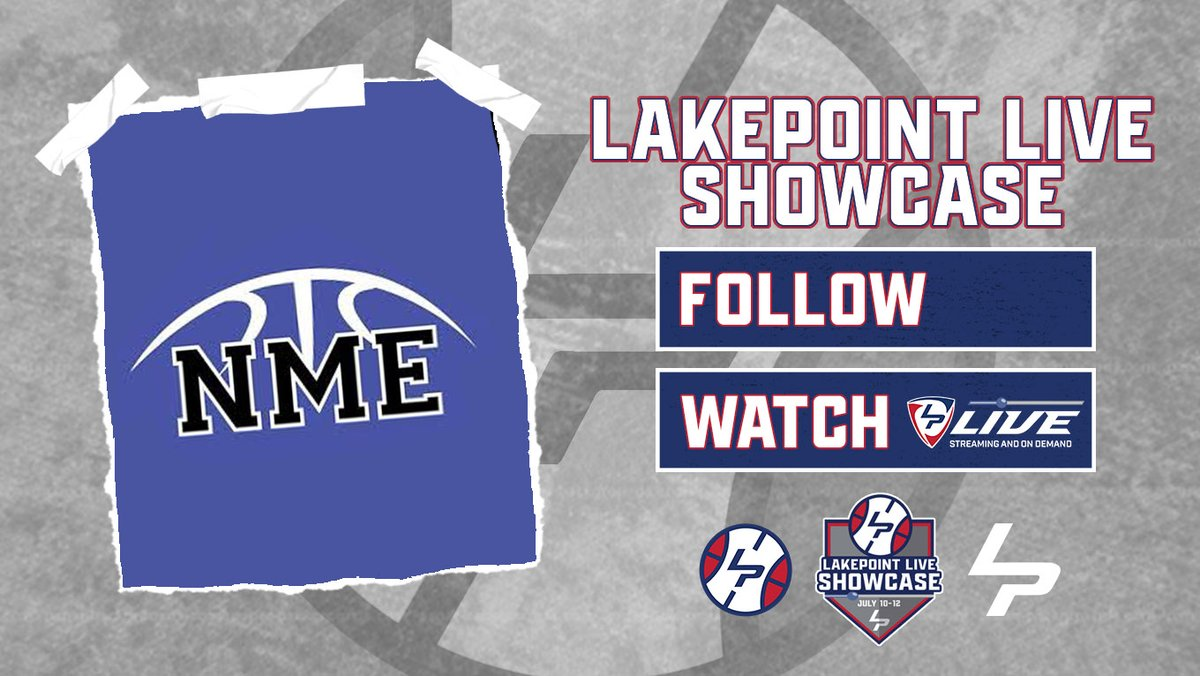 We're excited to announce of the most loyal programs to #LakePointHoops, @NMEBBALL, will be joining us for the #LPLiveShowcase at the @LakePointSports Champions Center on July 10-12! https://t.co/h2vEPO76V9