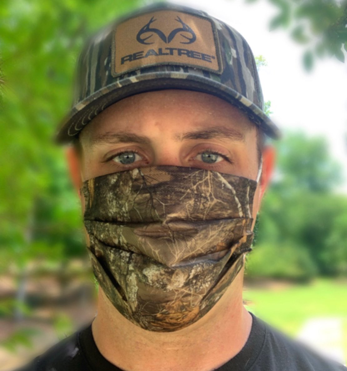 Wear a mask because your action might save lives! Get your @Realtree mask today —> bit.ly/2YK4dgY