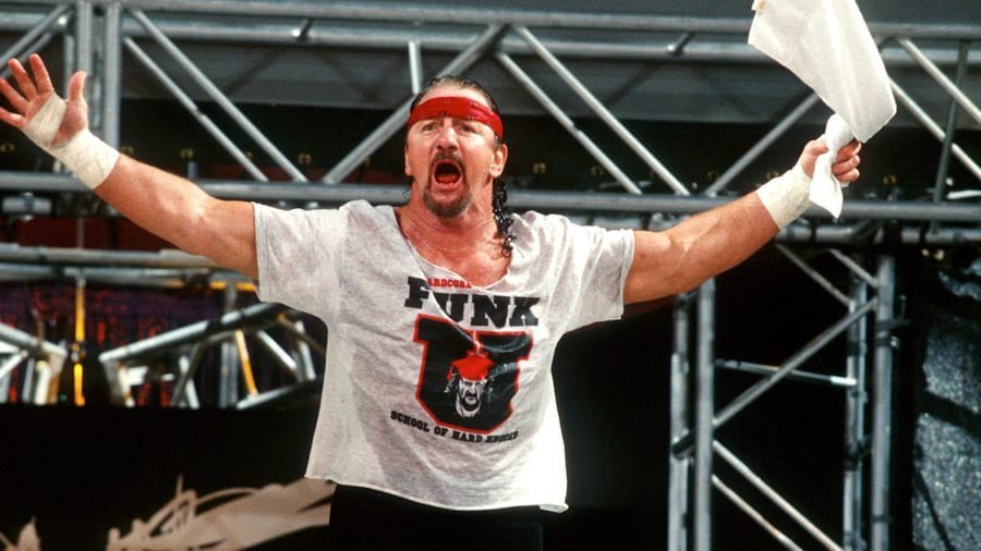 It s Terry Funk s birthday. Has me gone down a Funk rabbit hole on YouTube. Happy bday Funker