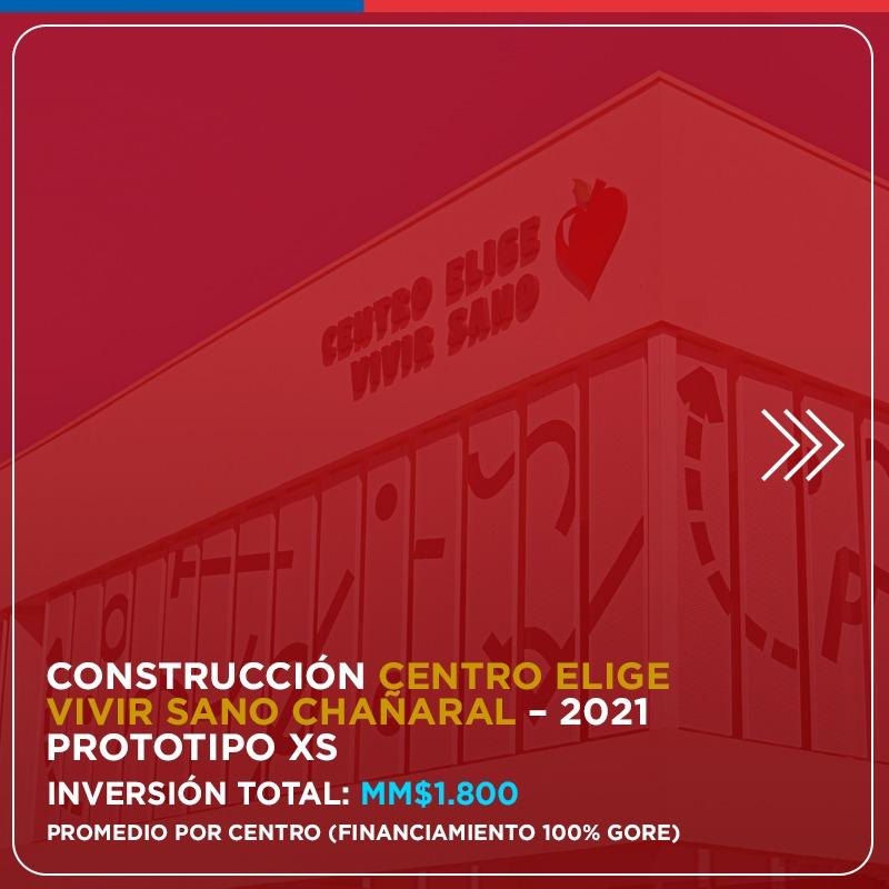 Y además anunciamos el nuevo Polideportivo Centro @EligeVivirSano, que estará en la comuna de Chañaral y se sumará, a nivel regional, al que ya funciona en Caldera. ¡Un gran abrazo a todos en Atacama! pic.twitter.com/a999kbGtnY