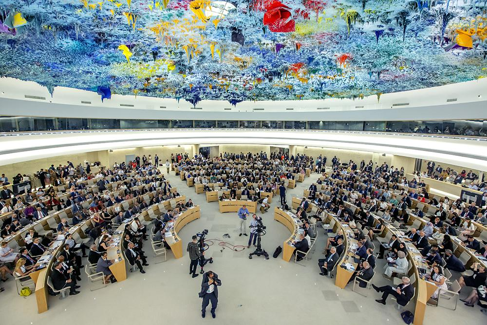 Opening the UN Human Rights Council, 27 governments reiterate their deep concern about the Chinese governments detention of one million Uighur and other Turkic Muslims and now add deep and growing concern about the national security law for Hong Kong. trib.al/Wvkk1Fi