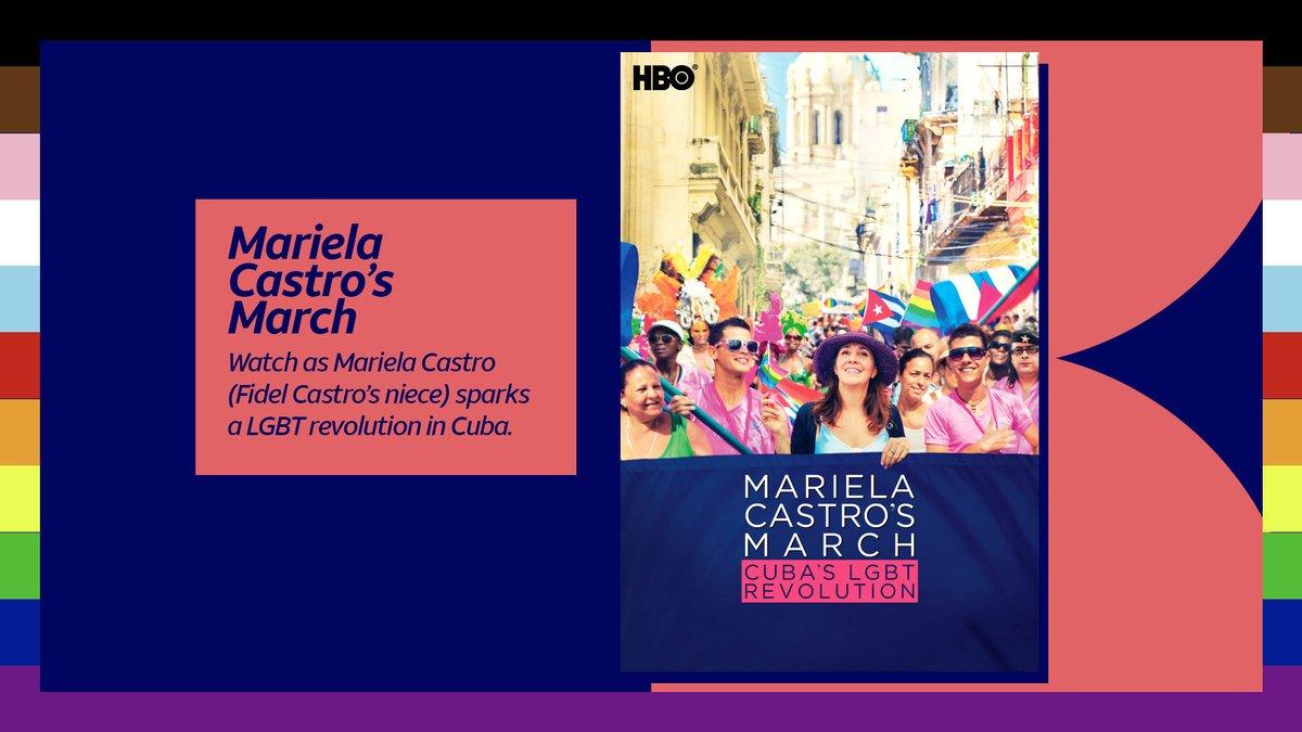 Stream Mariela Castro's March: Cuba's LGBT Revolution (2016) via HBO on HBO Max. https://t.co/NQNOYfaRb7