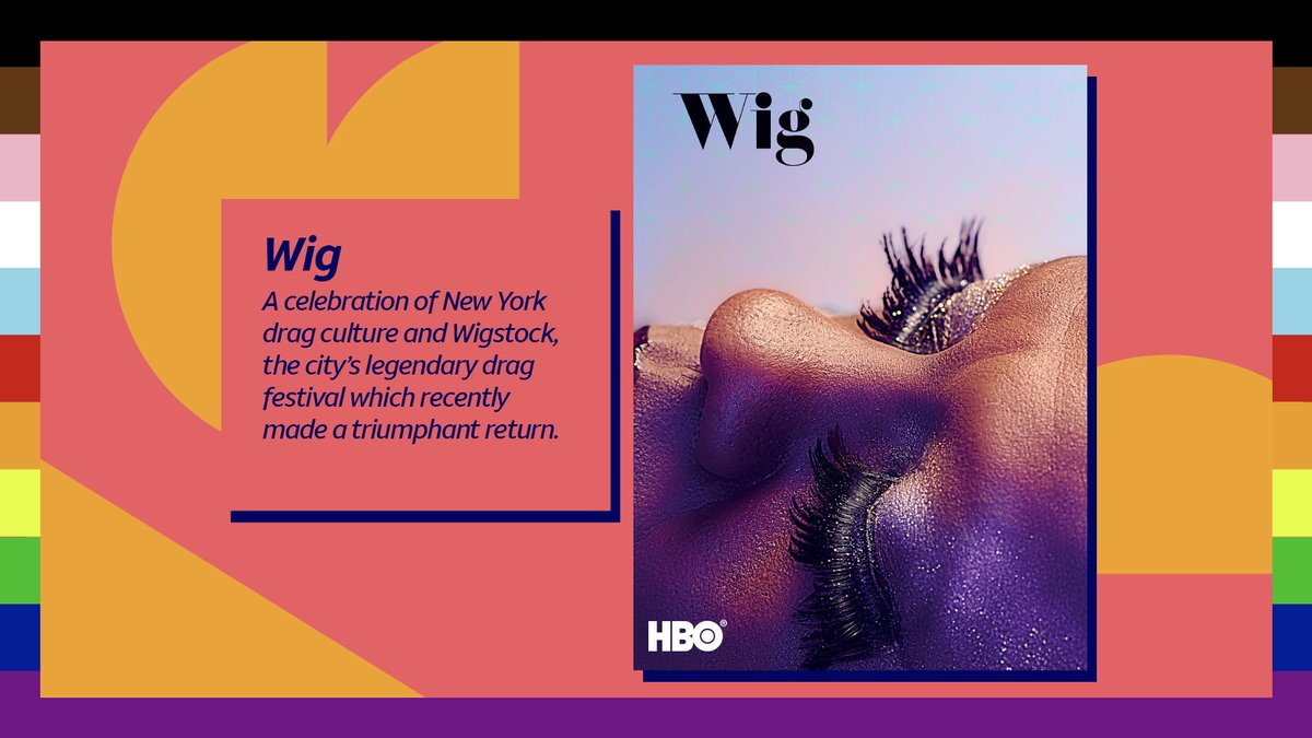 We recommend checking out these films that honor the experiences of the LGBTQ+ community around the world. #Pride2020  Stream Wig (2019) via HBO on HBO Max. https://t.co/LB8zU8fQG1