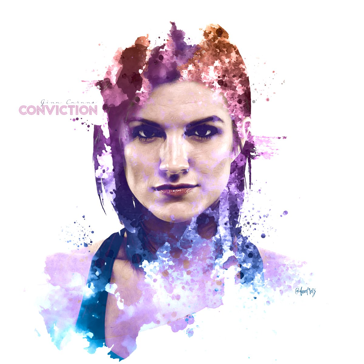 Hey #MMATwitter @ginacarano may be THE most requested #portraitedit I've had to date, and it's always totally scared the SH!T out of my, ha! I hope that I did this justice. I'm pleased with the outcome so I hope you all are as well. Gina, thanks for all you did to pave the way! https://t.co/SiaEt5vJJz